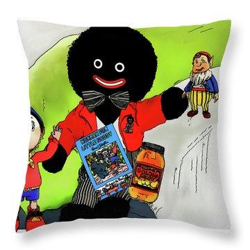 Favourite Childhood Memories Throw Pillow