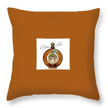 Throw Pillow featuring the digital art Fawn by ReInVintaged