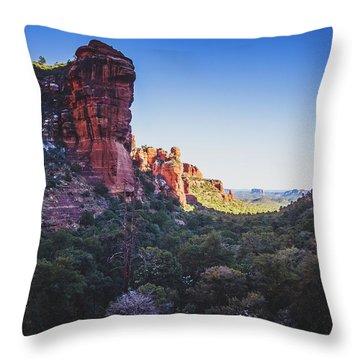 Fay Canyon Vista Throw Pillow