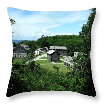 Fayette Historic State Park Throw Pillow