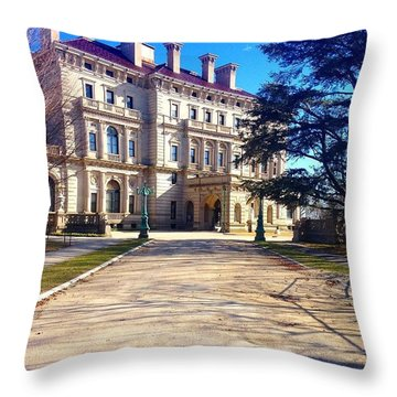 The Gilded Age Throw Pillow