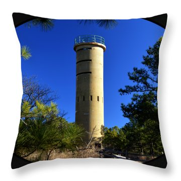 Fct7 Fire Control Tower #7 - Observation Tower Throw Pillow