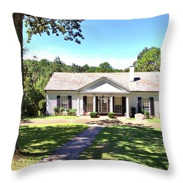 Fdr's Little White House Throw Pillow