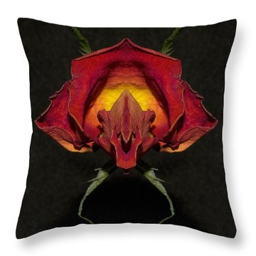Throw Pillow featuring the photograph Feap Of Laith by WB Johnston