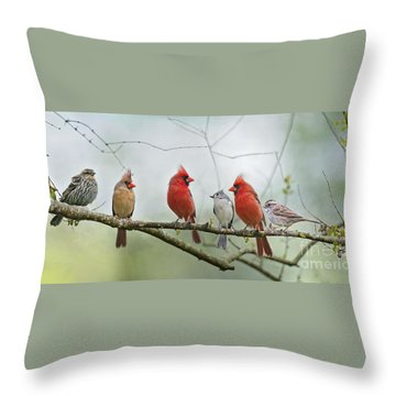 Fear Not Little Flock Throw Pillow