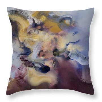 Fear Of Letting Go Throw Pillow