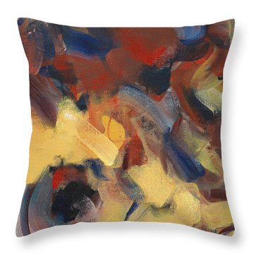 Fear Of The Enemy Throw Pillow