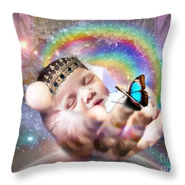 Fearfully And Wonderfully Created Throw Pillow by Dolores Develde