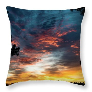 Fearless Awakened Throw Pillow