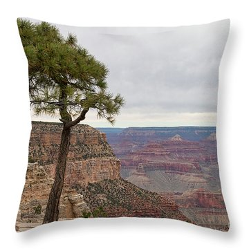 Fearless Tree Throw Pillow