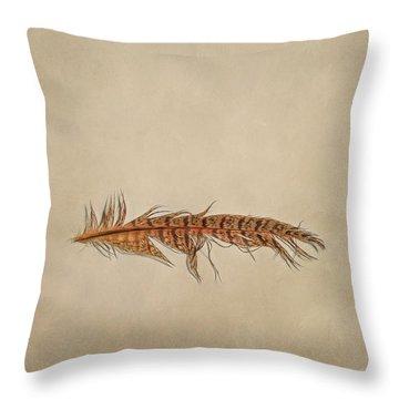 Feather 2 Throw Pillow
