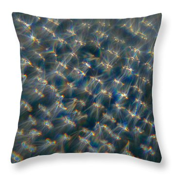 Throw Pillow featuring the photograph Feather Bed by Greg Collins