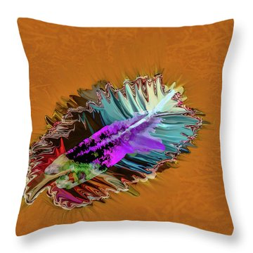 Feather #h8 Throw Pillow