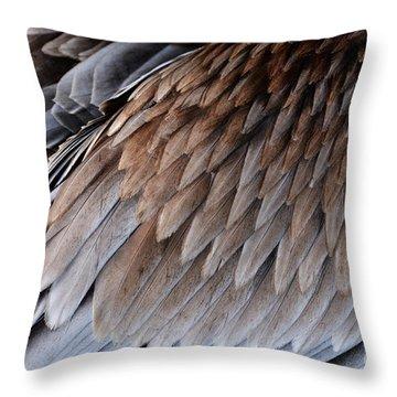 Feathers Cascade Throw Pillow