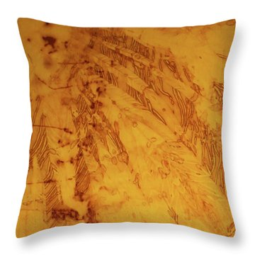Throw Pillow featuring the photograph Feathers On The Wind by Cynthia Powell