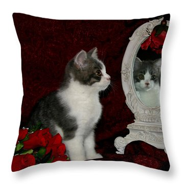 February 2006 Throw Pillow