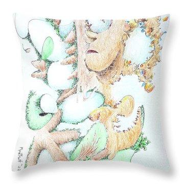 Fecundity Throw Pillow