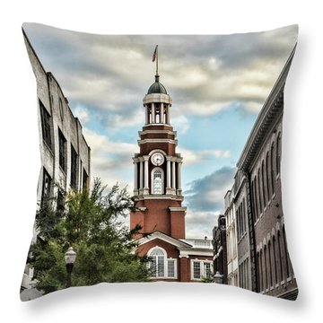 Federal Courthouse Knoxville Throw Pillow