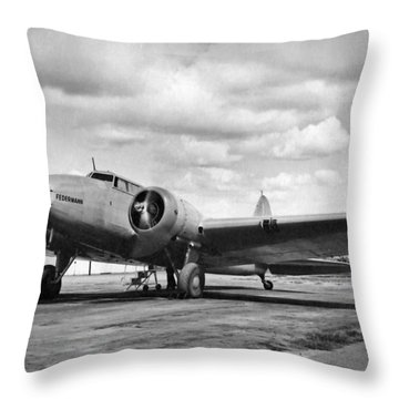 Federmann Throw Pillow