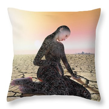 Feel The Burn Throw Pillow