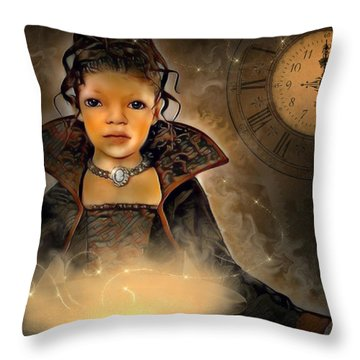 Feel The Magic Throw Pillow