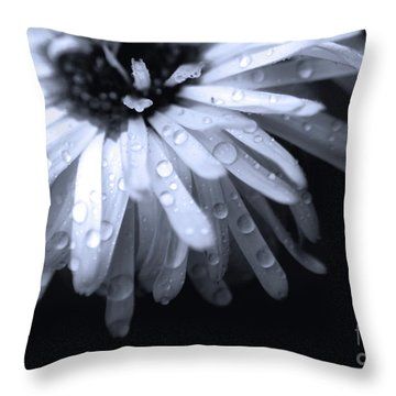 Feel The Rain Throw Pillow