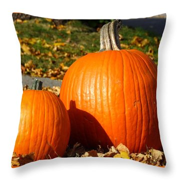 Feeling Fall Throw Pillow by Kyle West