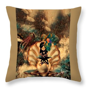 Feeling It All Throw Pillow