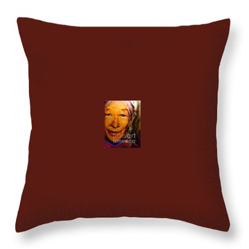 Feeling Light Within We Walk Throw Pillow by FeatherStone Studio Julie A Miller