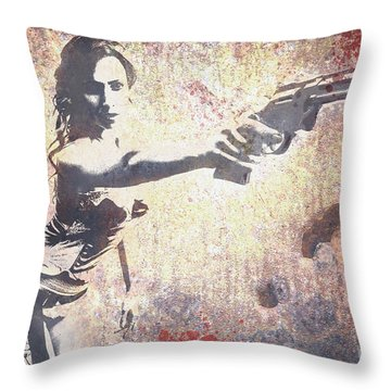Feeling Lucky? Throw Pillow