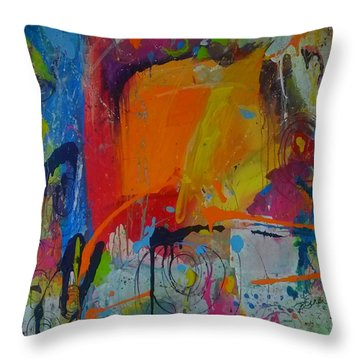 Feeling Melancholy Throw Pillow
