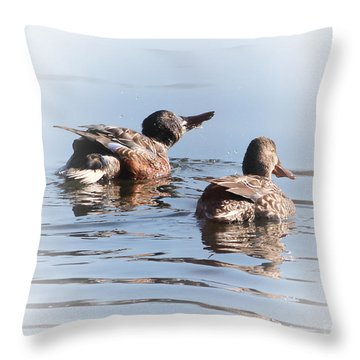 Feeling Refreshed Throw Pillow