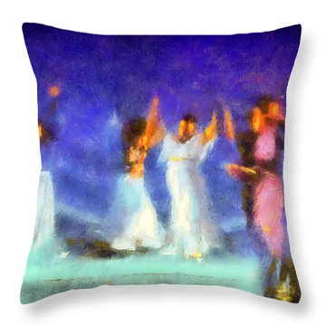 Throw Pillow featuring the photograph Feeling The Spirit by Joseph Hollingsworth