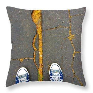 Feet Around The World #26 Throw Pillow