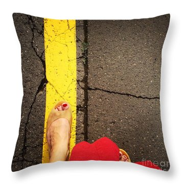 Feet Around The World #27 Throw Pillow