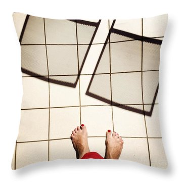 Feet Around The World #28 Throw Pillow