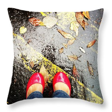 Feet Around The World #29 Throw Pillow