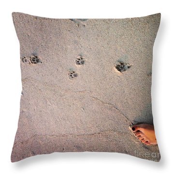 Feet Around The World #31 Throw Pillow