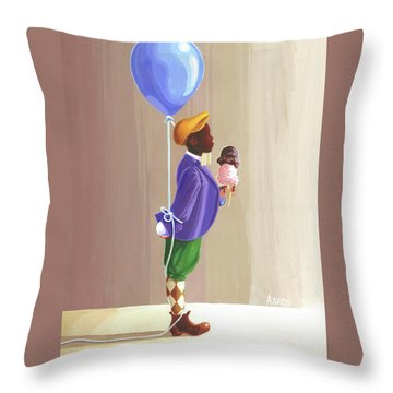 Fella Throw Pillow