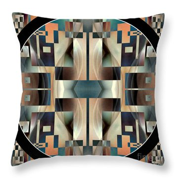 Female Abstraction Image Five Throw Pillow