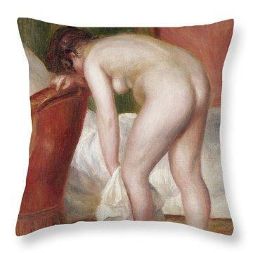 Intimate Portrait Throw Pillows