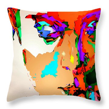 Female Tribute IIi Throw Pillow