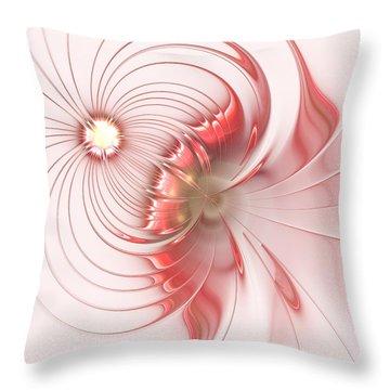 Throw Pillow featuring the digital art Feminism by Anastasiya Malakhova