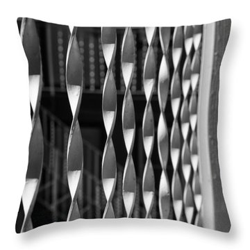 Fence Song  Throw Pillow