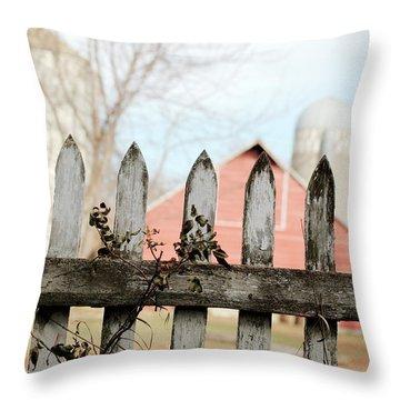 Fenceline Throw Pillow