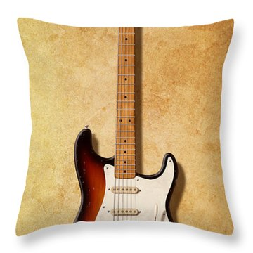Fender Stratocaster Since 1954 Throw Pillow