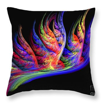 Fenghuang Throw Pillow