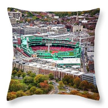 Fenway Park  Boston Red Sox Throw Pillow