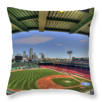 Fenway Park Interior  Throw Pillow