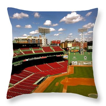 Fenway Park Iv  Fenway Park  Throw Pillow